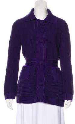 Christian Dior Wool Button-Up Cardigan