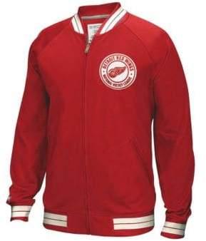 Reebok Detroit Red Wings CCM Full-Zip Jacket