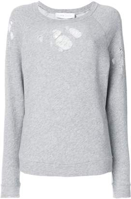 IRO destroyed sweatshirt