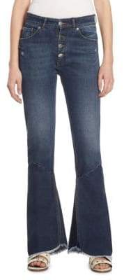 Each X Other Hybrid Flared Cotton Jeans