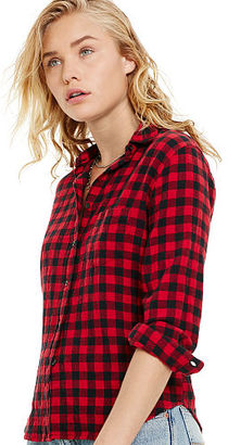 Ralph Lauren Denim & Supply RL Tomboy Plaid Shirt $69.50 thestylecure.com