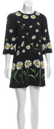 Dolce & Gabbana 2016 Daisy Print Dress