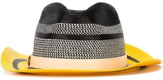 Etro striped colour block hat