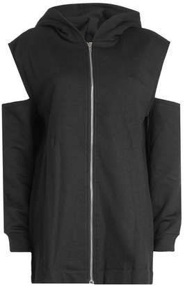 IRO Zipped Jacket with Cold Shoulders