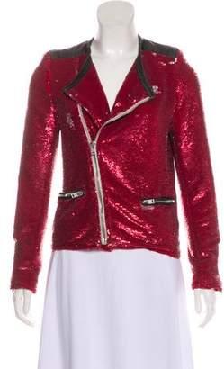 IRO Sequin Cropped Jacket