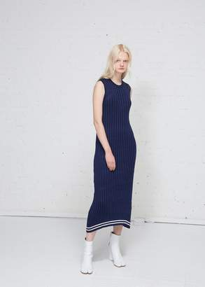 Maison Margiela Sleeveless Ribbed Maxi Dress
