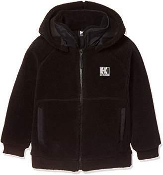 Helly Hansen (ヘリー ハンセン) - [ヘリーハンセン]K FIBERPILER Jacket ボーイズ(男女兼用) ブラック 日本 110 (日本サイズ110 相当)