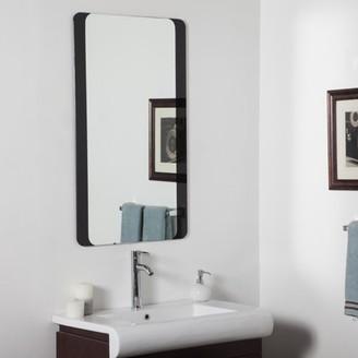 Décor Wonderland Decor Wonderland Large Bathroom mirror 23.5 inx39.5 in