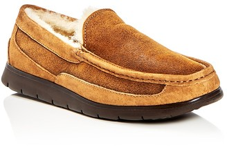 UGG® Fascot Bomber Shearling Slippers $155 thestylecure.com