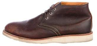 Red Wing Shoes Leather Ankle Boots