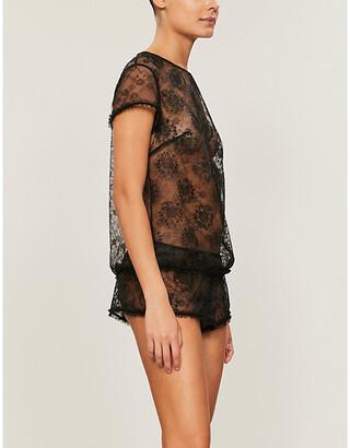 Myla Sunbury Street mesh shorts