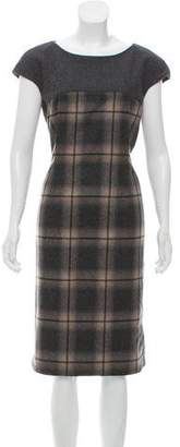 Max Mara Weekend Virgin Wool Midi Dress