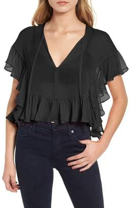 Bailey 44 Go With the Flow Silk Blouse