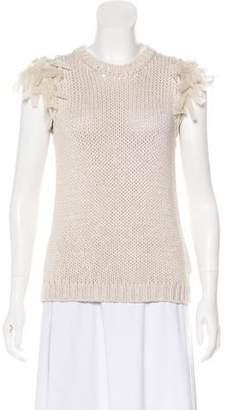 Brunello Cucinelli Rib Knit Sleeveless Sweater 824914a8d