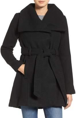 Steve Madden Women's Wool Blend Belted Winter Fashion Dress Wrap Coat - (Size)