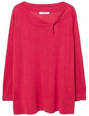 Violeta BY MANGO Knot detail sweater
