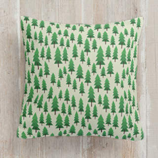 wood for the trees Square Pillow