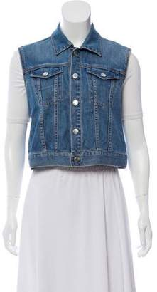 BLK DNM Light wash Denim Vest