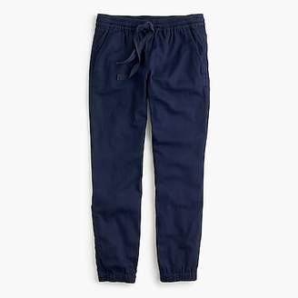 J.Crew Tall Point Sur seaside pant in cotton twill