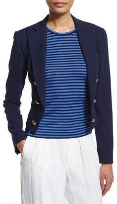 Ralph Lauren Collection Spencer Slim-Fit Jacket, Dark Navy $1,590 thestylecure.com