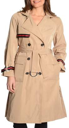 Rachel Roy Grosgrain Trench Coat