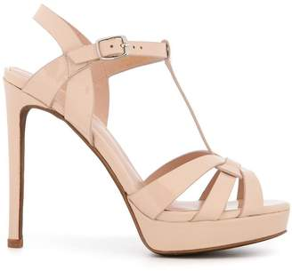 Lola Cruz high ankle sandals