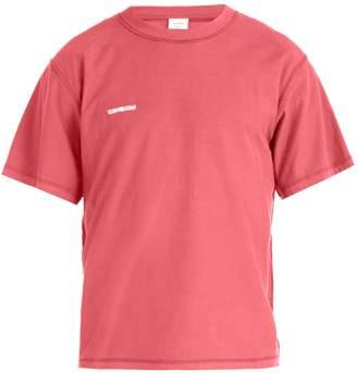 Vetements Inside-out cotton T-shirt