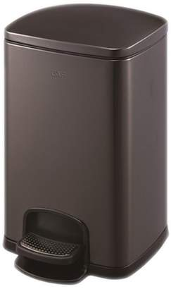 +Hotel by K-bros&Co LITINGMEI Refuse Bin Stainless Steel Trash Cans Pedal Hotel Trash Cans Foot Bathroom Trash 5L ( Color : )
