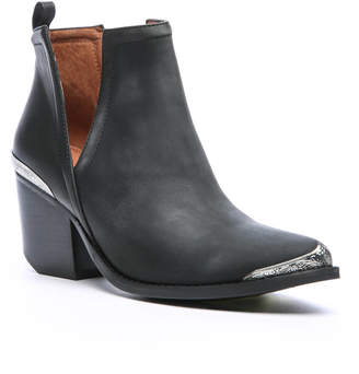 Jeffrey Campbell Cromwell Leather Western Cut Out Bootie