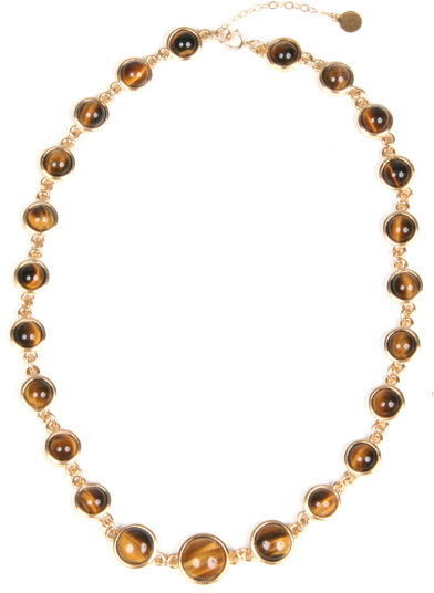 Janna Conner Tigers Eye Necklace