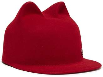 Maison Michel 'Jamie' cat ear rabbit furfelt cap