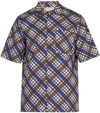 Marni Checked cotton shirt