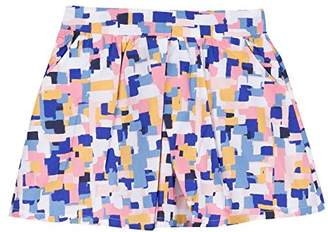 Jean Bourget Girl's Jupe Print Arty Skirt,(Manufacturer Size: 6A)