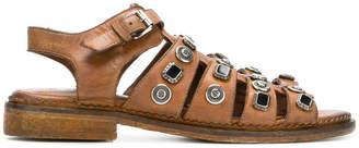 Strategia embellished buckle sandals