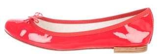 Repetto Patent Leather Round-Toe Flats