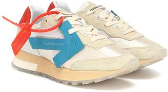 Off-White Off White HG Runner suede sneakers