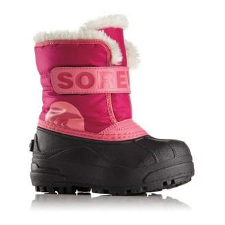 Sorel Fur-Lined Nylon Snow Commander Boots