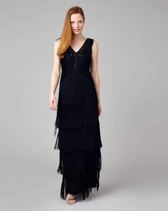 Phase Eight Sable Fringe Dress