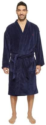 Polo Ralph Lauren Velour Kimono Robe Men's Robe