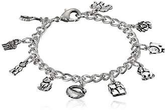 Bob Siemon Pewter Noah's Ark Children's Bracelet