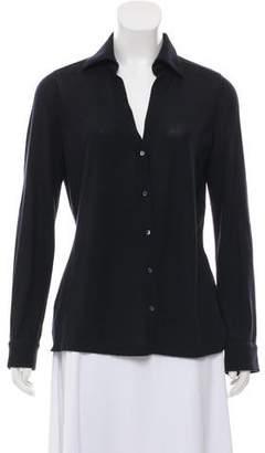 Loro Piana Collared Button-Up Cardigan
