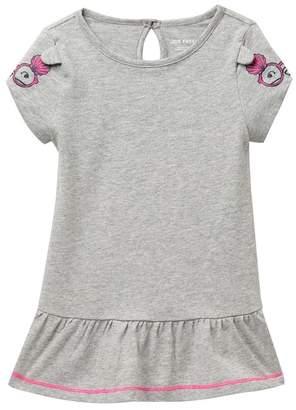 Joe Fresh Sleeve Art Dress (Baby Girls)