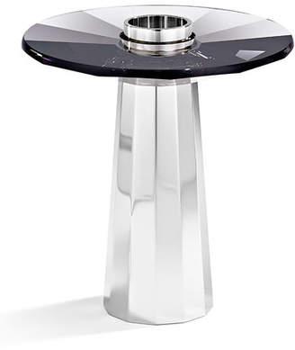 Swarovski Small Plinth Candleholder, Black