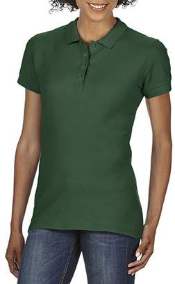 Gildan Softstyle Womens/Ladies Short Sleeve Double Pique Polo Shirt (M)