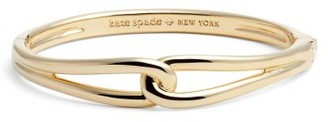 Women's Kate Spade New York Get Connected Loop Bangle $78 thestylecure.com