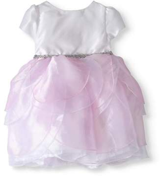 Nannette Girls' Organza Petal Occasion Dress