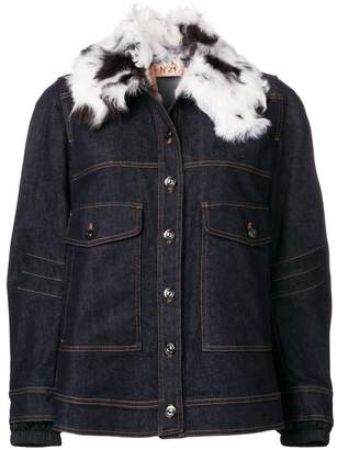 No.21 loose fitted jacket