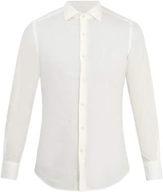 Glanshirt Long-sleeved slim-fit cotton shirt