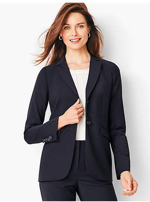 Talbots Seasonless Wool Two-Button Blazer
