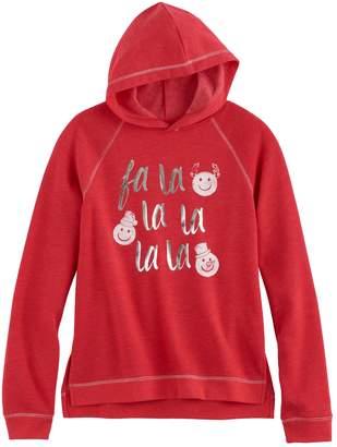 So Girls 7-16 SO Holiday Fleece Sweatshirt